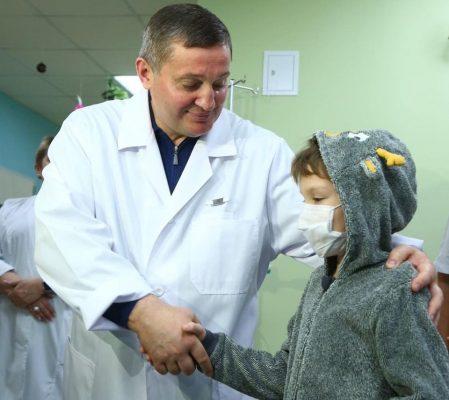 Медицинская сфера в регионе на личном контроле Андрея Бочарова